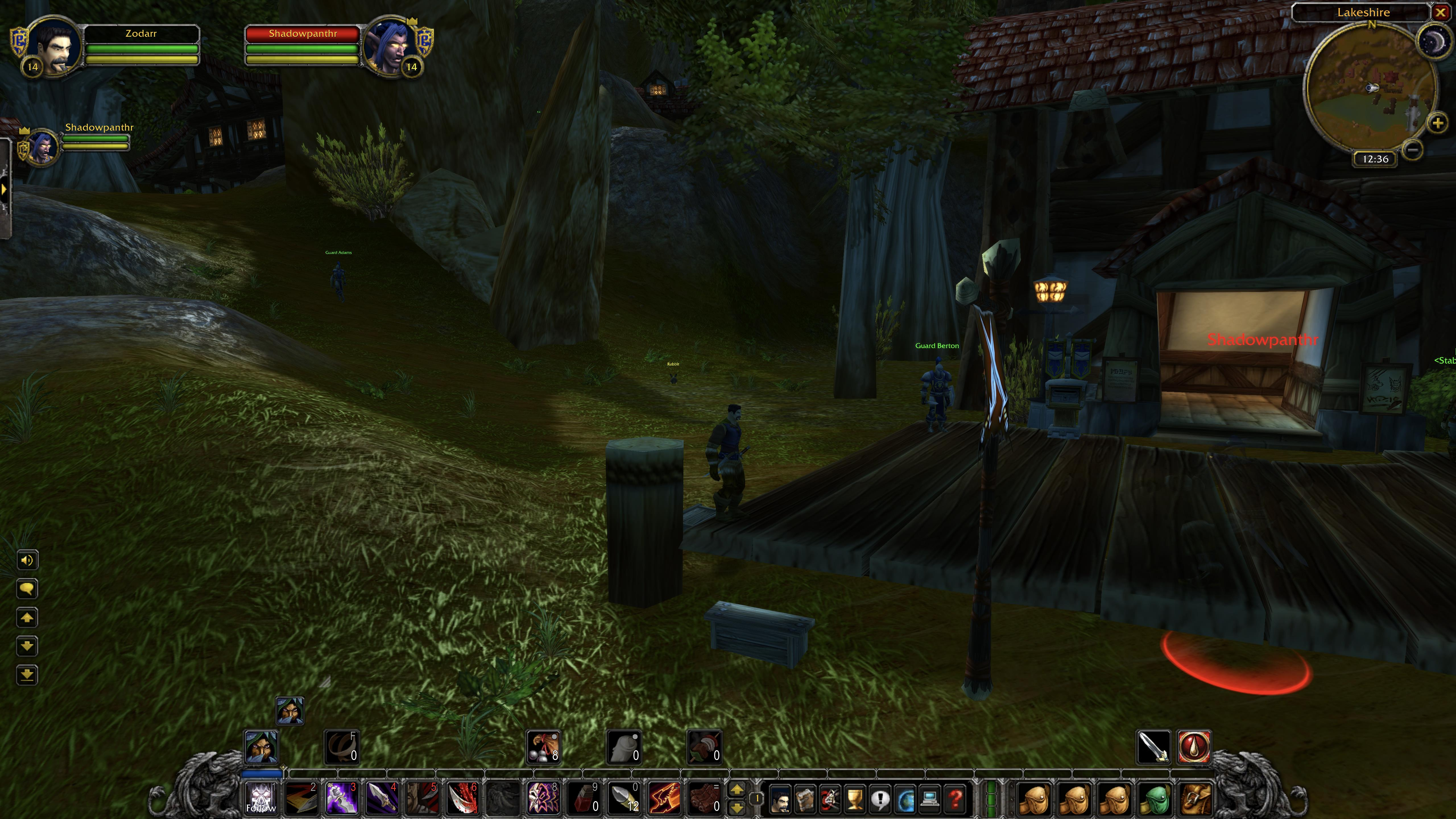 Night Elf Stealth - 0 MoD