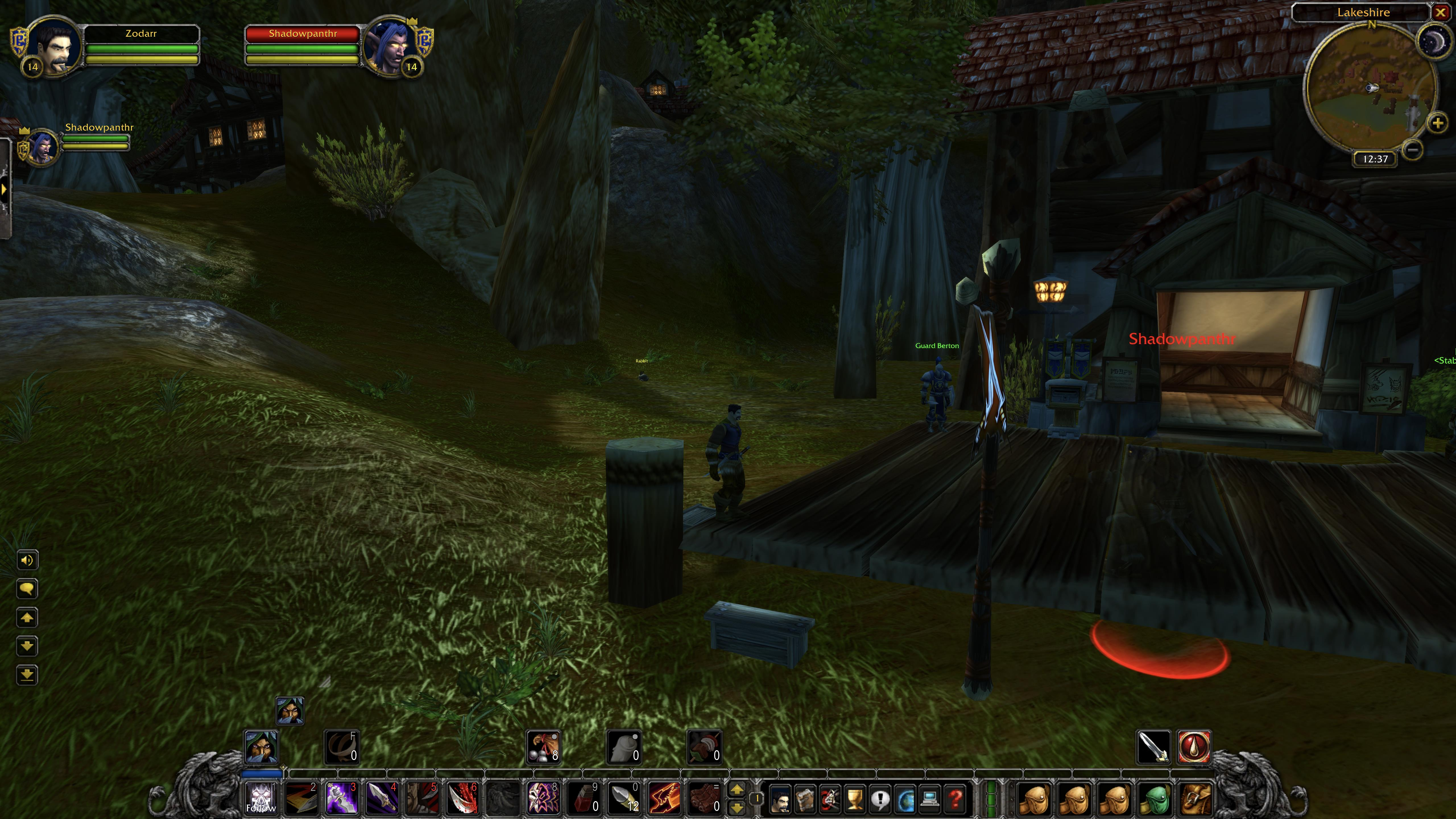 Night Elf Stealth - 1 MoD